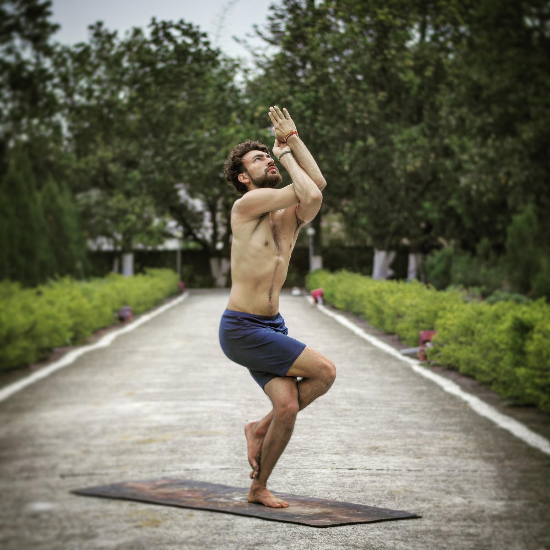 Garudasana Eagle Pose  How to Do It, Benefits, Step by Step ...